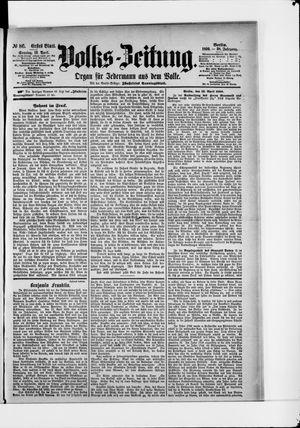 Volks-Zeitung vom 13.04.1890