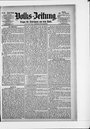 Volks-Zeitung vom 18.04.1890