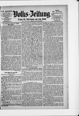 Volks-Zeitung vom 25.04.1890