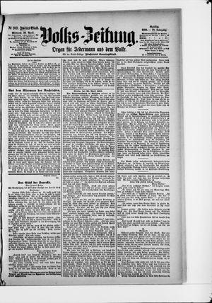 Volks-Zeitung vom 30.04.1890