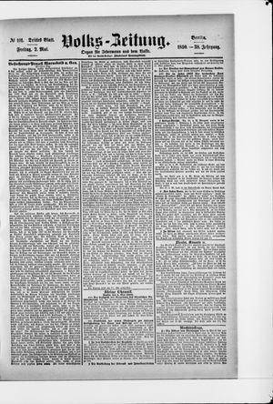 Volks-Zeitung vom 02.05.1890