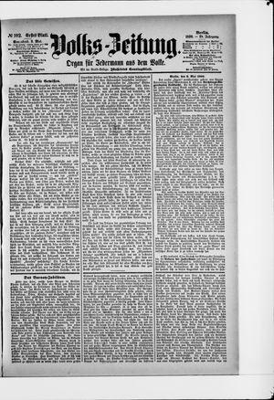 Volks-Zeitung vom 03.05.1890