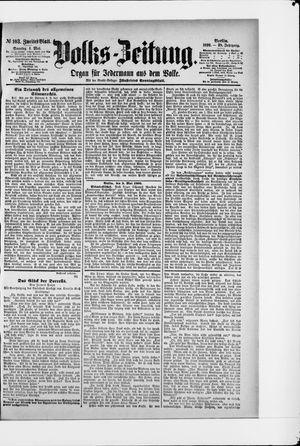 Volks-Zeitung vom 04.05.1890