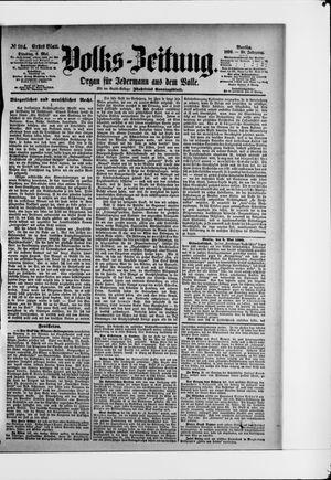 Volks-Zeitung vom 06.05.1890