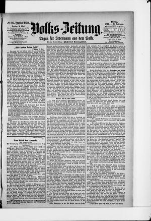 Volks-Zeitung vom 09.05.1890