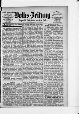 Volks-Zeitung vom 11.05.1890