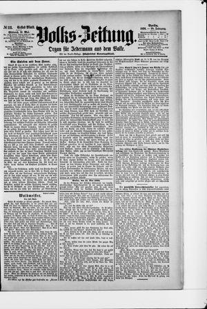 Volks-Zeitung vom 14.05.1890