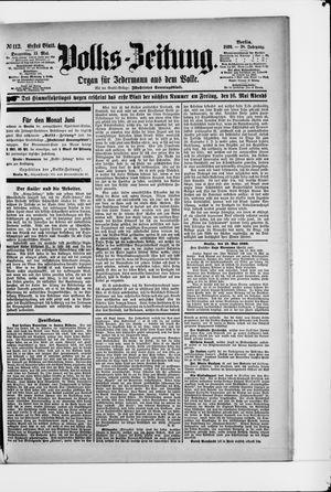 Volks-Zeitung vom 15.05.1890