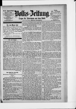 Volks-Zeitung vom 18.05.1890