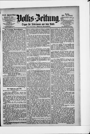 Volks-Zeitung vom 21.05.1890