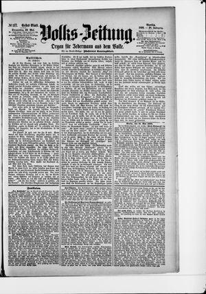Volks-Zeitung vom 22.05.1890