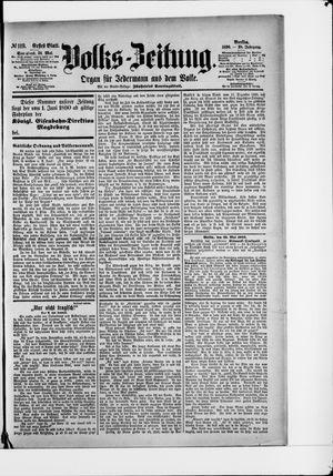 Volks-Zeitung vom 24.05.1890