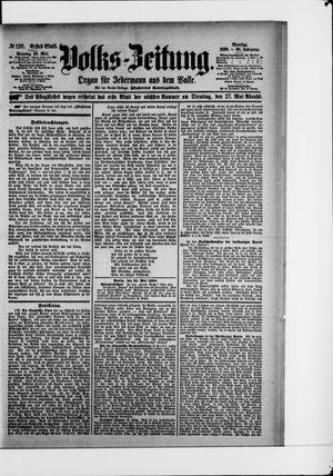 Volks-Zeitung vom 25.05.1890