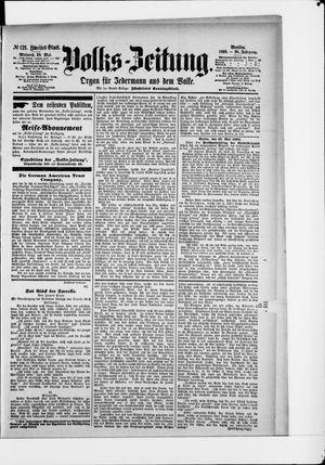 Volks-Zeitung vom 28.05.1890