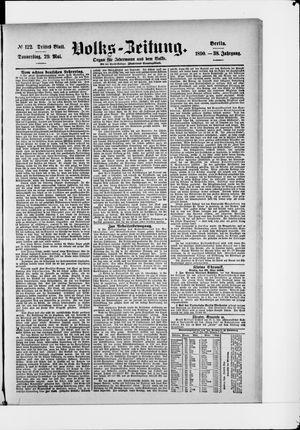 Volks-Zeitung vom 29.05.1890
