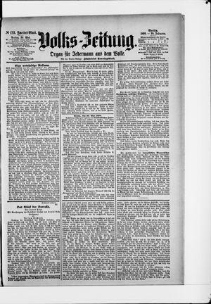 Volks-Zeitung vom 30.05.1890