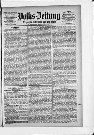 Volks-Zeitung vom 31.05.1890