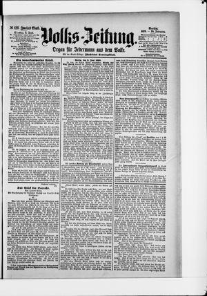 Volks-Zeitung vom 03.06.1890