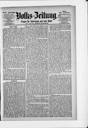 Volks-Zeitung vom 05.06.1890