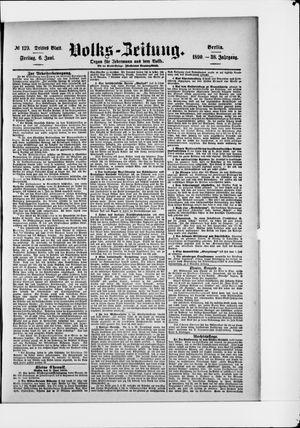 Volks-Zeitung vom 06.06.1890