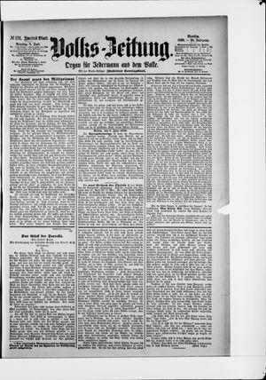 Volks-Zeitung vom 08.06.1890