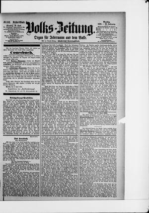 Volks-Zeitung vom 10.06.1890