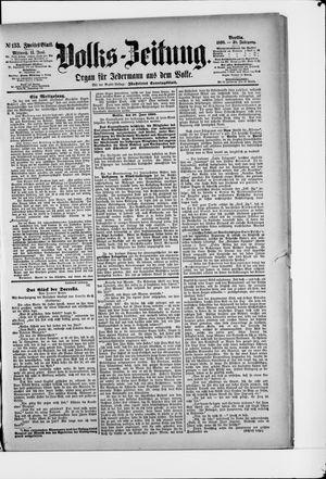 Volks-Zeitung vom 11.06.1890
