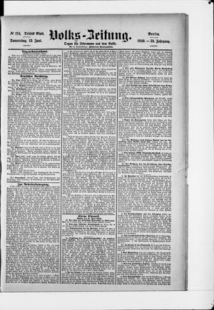 Volks-Zeitung vom 12.06.1890