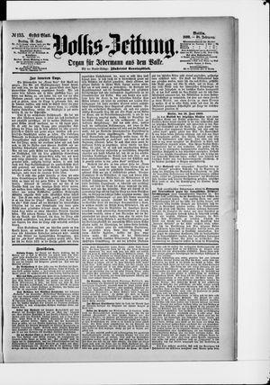 Volks-Zeitung vom 13.06.1890