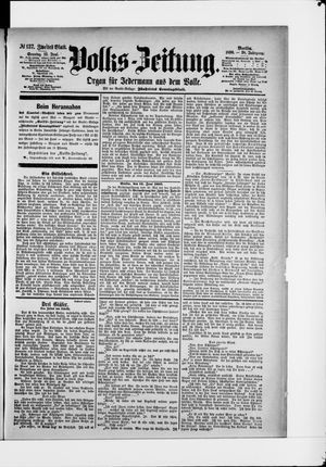 Volks-Zeitung vom 15.06.1890