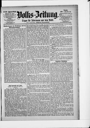 Volks-Zeitung vom 18.06.1890