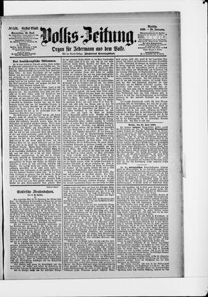 Volks-Zeitung vom 19.06.1890