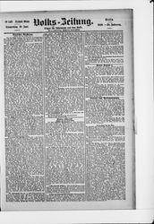 Volkszeitung (19.06.1890)