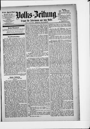 Volks-Zeitung vom 24.06.1890
