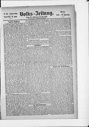 Volks-Zeitung vom 26.06.1890