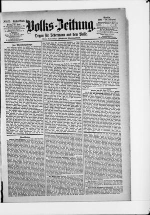 Volks-Zeitung vom 27.06.1890
