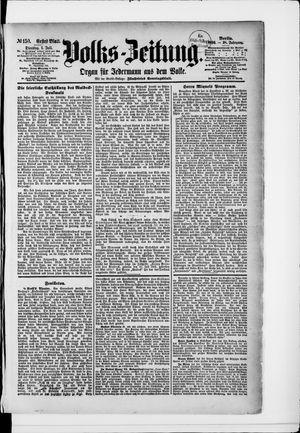 Volks-Zeitung vom 01.07.1890