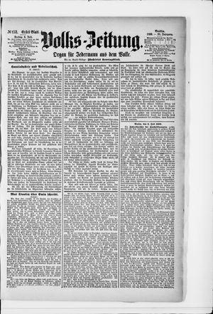 Volks-Zeitung vom 04.07.1890