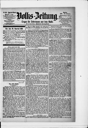 Volks-Zeitung vom 01.07.1891