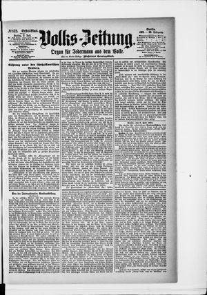 Volks-Zeitung vom 03.07.1891