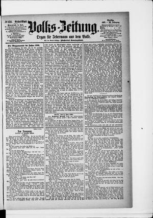Volks-Zeitung vom 04.07.1891