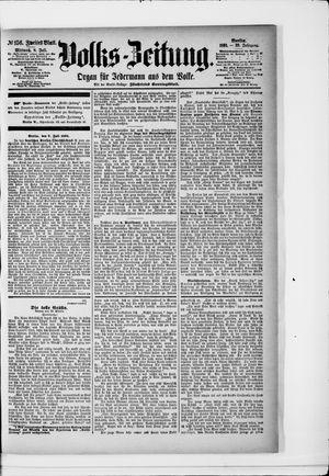 Volks-Zeitung vom 08.07.1891