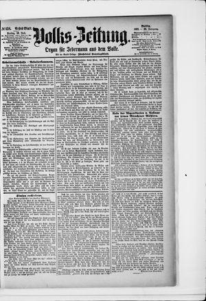 Volks-Zeitung vom 10.07.1891