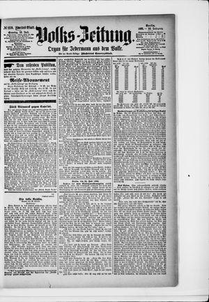 Volks-Zeitung vom 12.07.1891