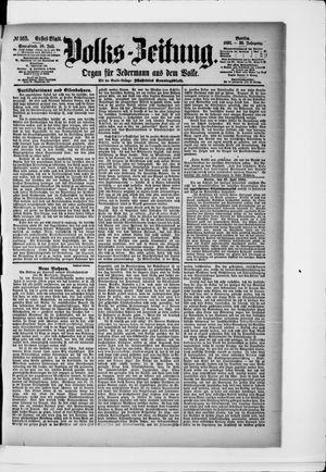 Volks-Zeitung vom 18.07.1891