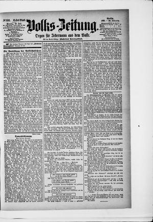 Volks-Zeitung vom 19.07.1891