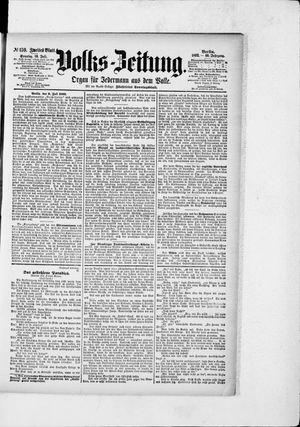 Volks-Zeitung vom 10.07.1892
