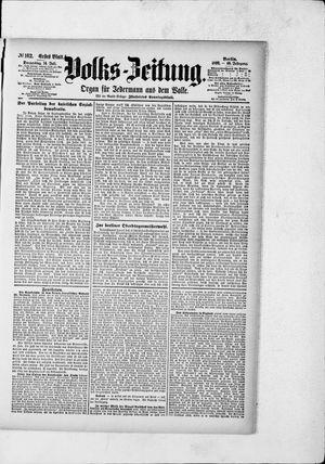Volks-Zeitung vom 14.07.1892