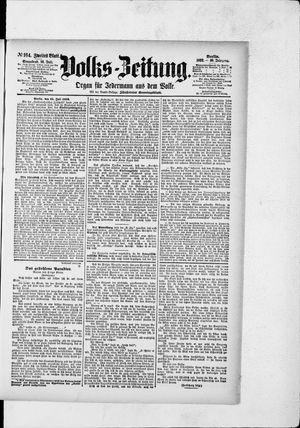 Volks-Zeitung vom 16.07.1892