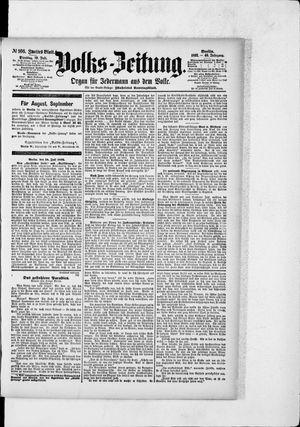 Volks-Zeitung vom 19.07.1892